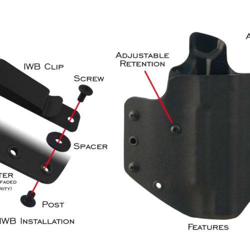 Crossfire Tactical Gear-Interchangeable Clips